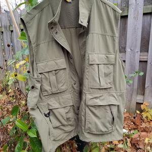 Mens TravelSmith Utility Vest XL
